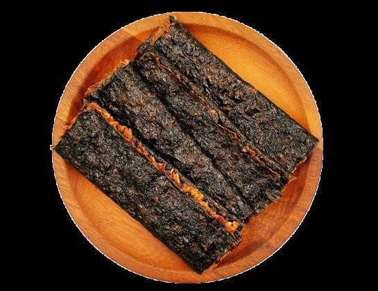 海苔杏仁脆片肉乾